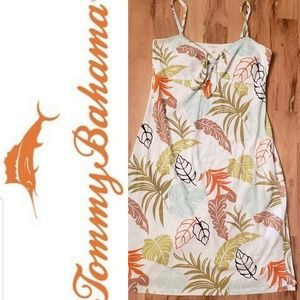Tommy Bahama Palm Leaf Dress